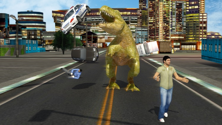 Dino City Hunting Attack 2018
