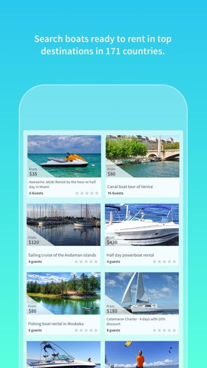 GetMyBoat: Boat Rentals & More screenshot-4