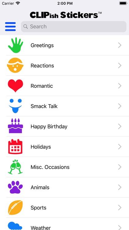CLIPish Stickers screenshot-5