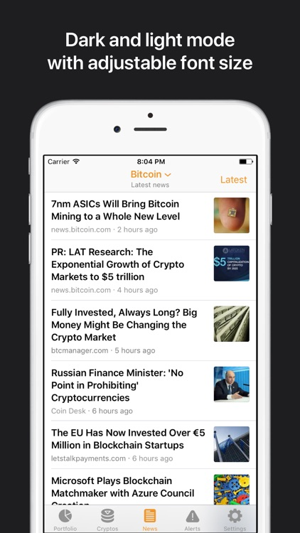 Crypto Pro: Bitcoin Ticker screenshot-4