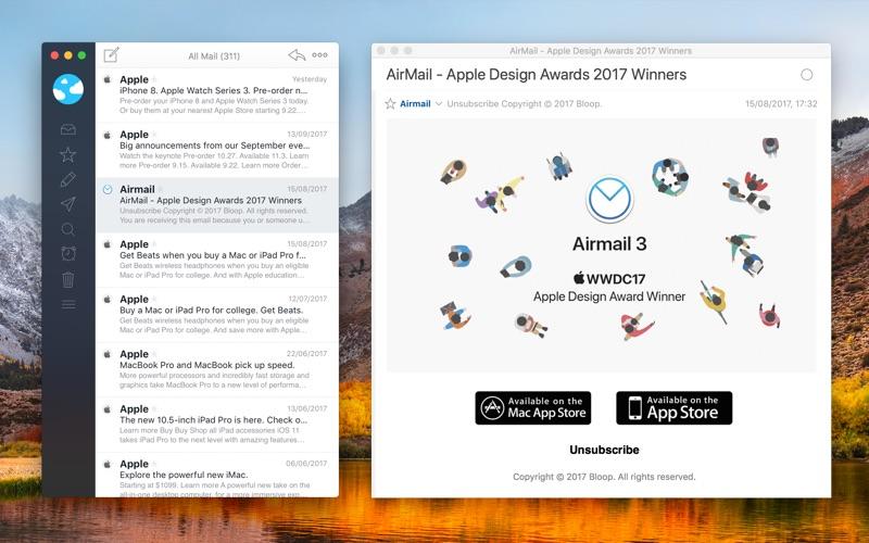 Airmail 3 Screenshots