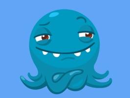 Octopus STiK Sticker Pack