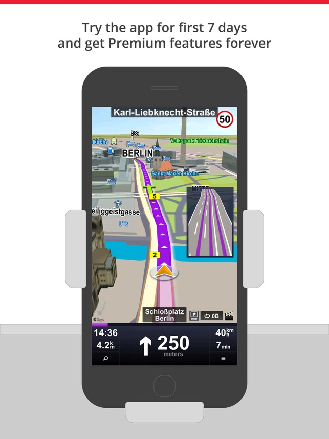 Car Navigation Gps Maps On The App Store - Sygic-us-maps