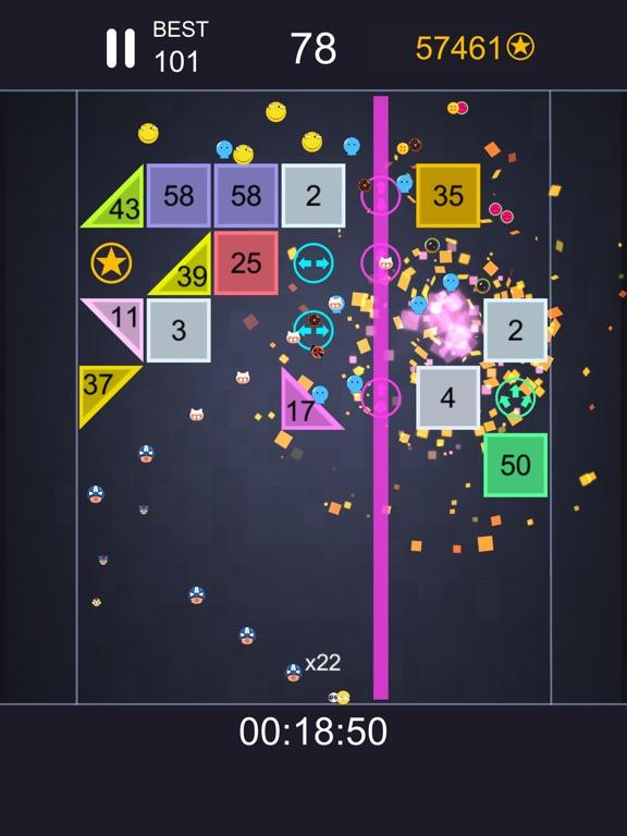 Many balls - blocks down screenshot #1
