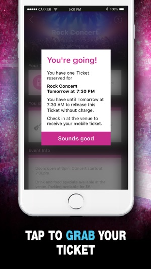 hook up tickets review