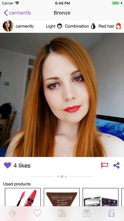 Facechart. Makeup & Looks screenshot-5