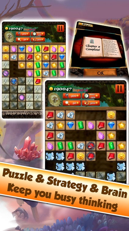Jewel Games Quest - Match 3 #
