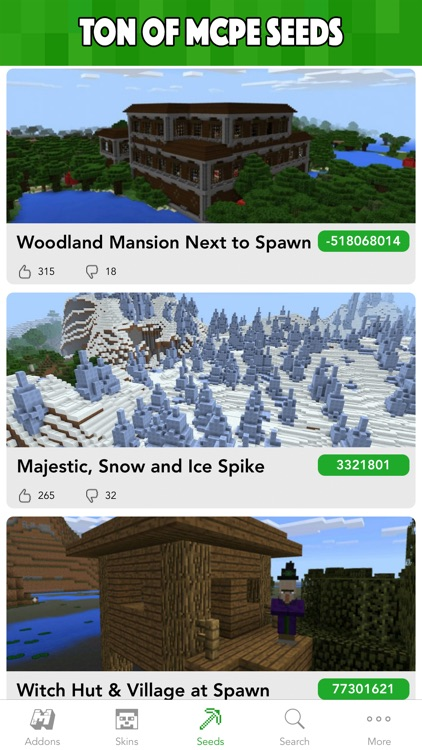 MCPE Planet - Addons, Maps, Skins for Minecraft PE screenshot-2
