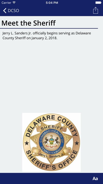 Delaware Co PA Sheriffs Office screenshot-3