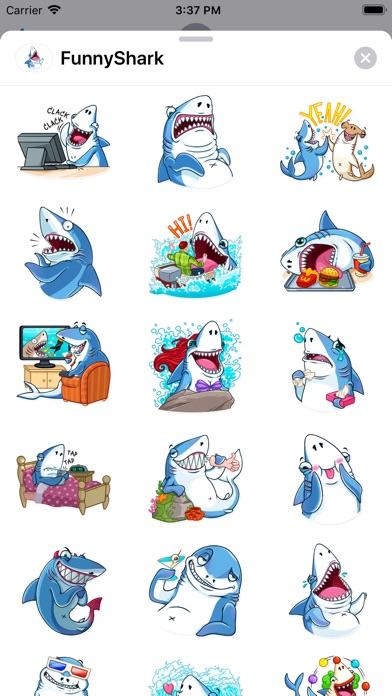 Funny Shark Sticker 2019 screenshot 1