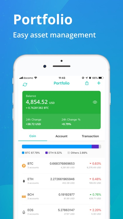 CoinView: Bitcoin Altcoin App screenshot-3
