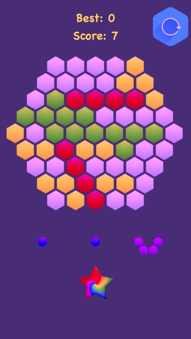 Hexagonal Merge : Premium screenshot 1
