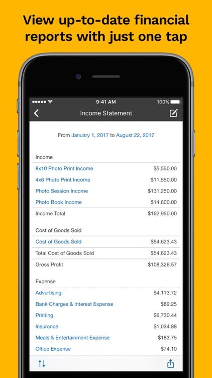 Kashoo Cloud Accounting screenshot-4