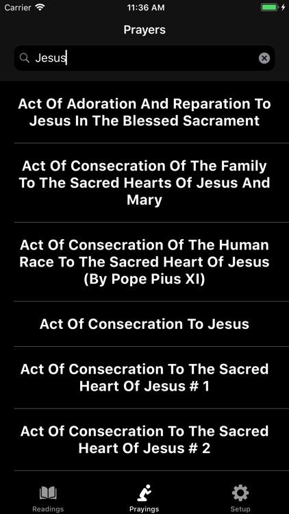 Mass Readings and Prayers screenshot-8