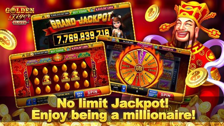 Golden Tiger Slots: Slot Games screenshot-5