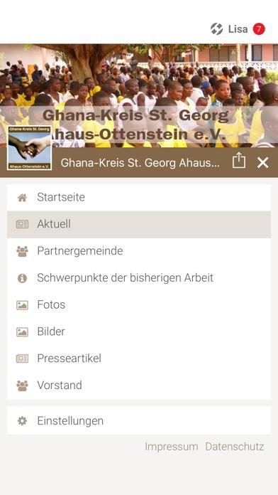Ghana Kreis Ahaus-Ottenstein screenshot 2