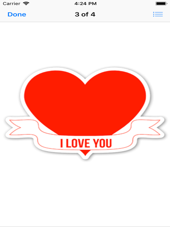 love you stickers | App Price Drops