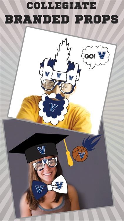 Villanova Wildcats PLUS Selfie Stickers