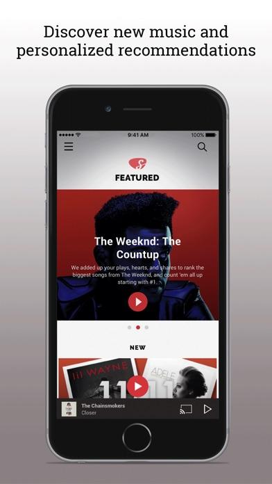 Slacker Radio app image