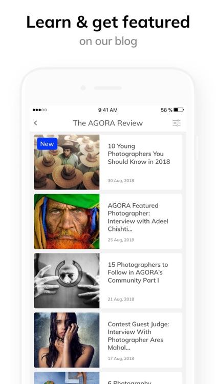 AGORA images: Photo contests screenshot-4