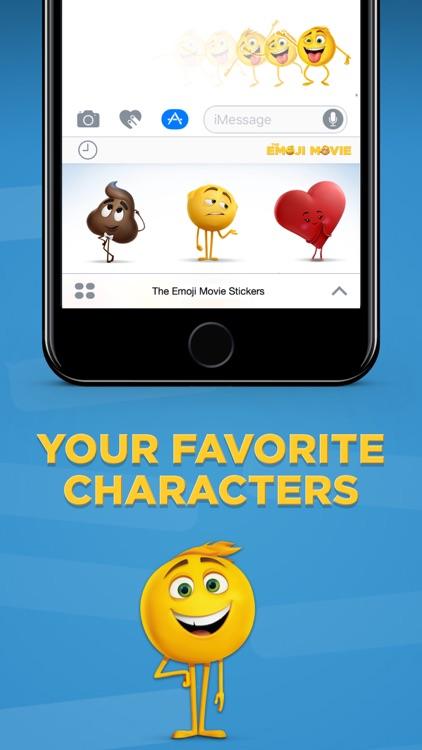 The Emoji Movie Stickers app image