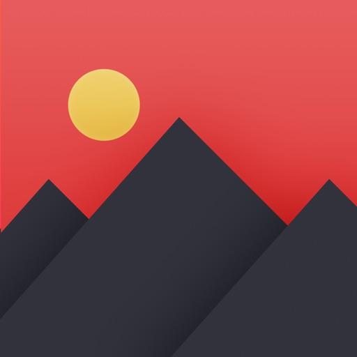 Pixomatic photo editor application logo