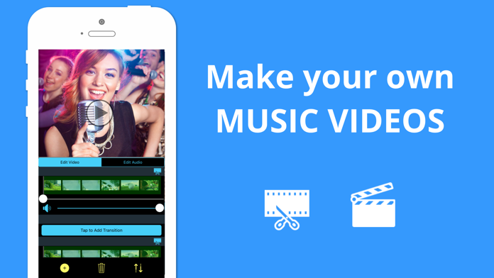 Add Music to Music Video Maker Screenshot