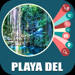 Playa del Carmen Travel Map