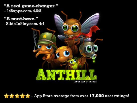 Anthill на iPad
