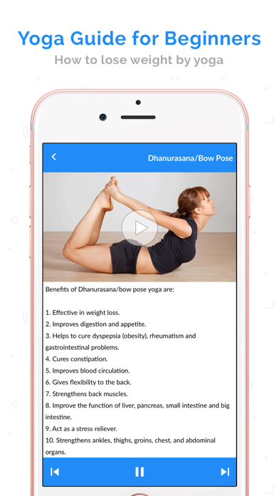 Yoga for Beginners by Video screenshot two