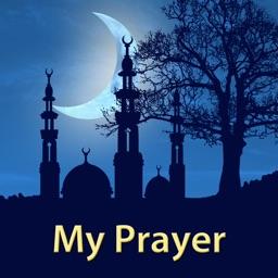 My Prayer: prayer times adhan alarm & Qibla Azkar