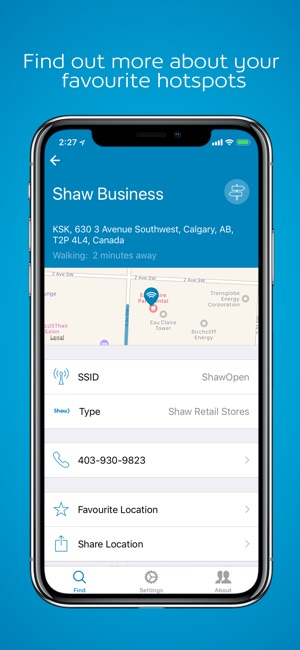 Shaw Go WiFi Finder on the App Store