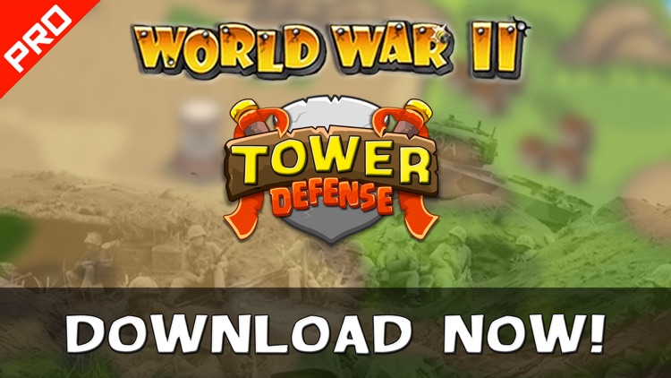 WWII Tower Defense PRO screenshot-4