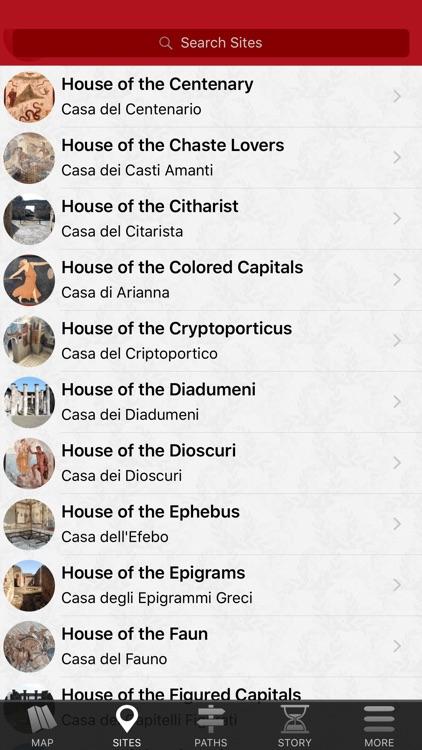 Pompeii Map - Travel Guide screenshot-4