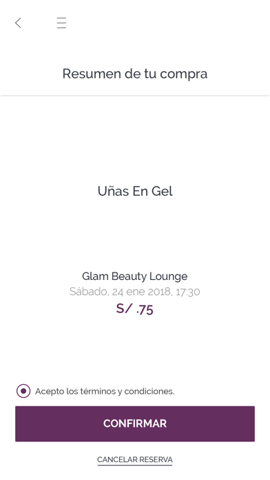 Glam Beauty Lounge screenshot two