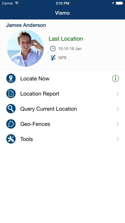 Vismo GPS Tracking