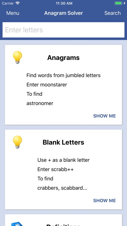Word Solver And Word Cheats
