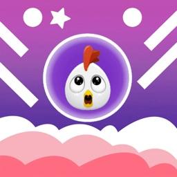 Rise Up Chicken - Balloon Dash