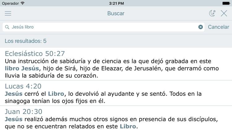 La Santa Biblia Católica Audio screenshot-3