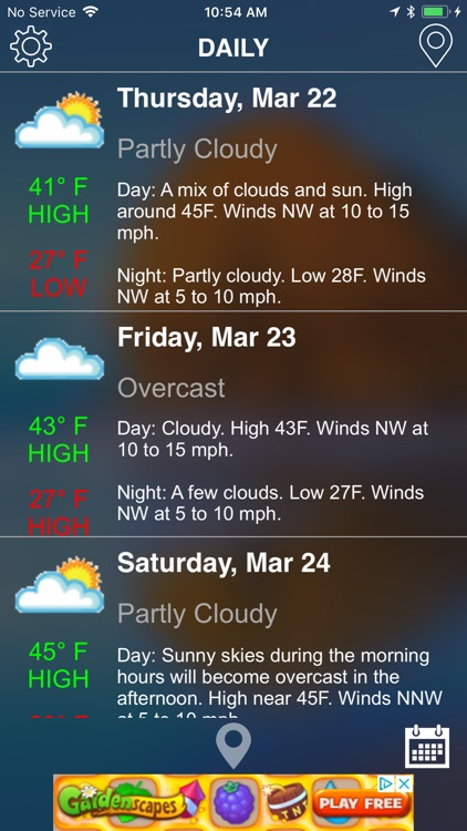 Weather Pro: Current/Forecast screenshot-0