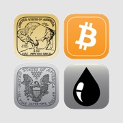 Trading Starter Kit, Live Badge Price and Alerts: Gold, Bitcoin, Silver and Oil