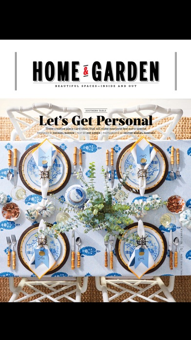 SOUTHERN LIVING Magazine iPhone