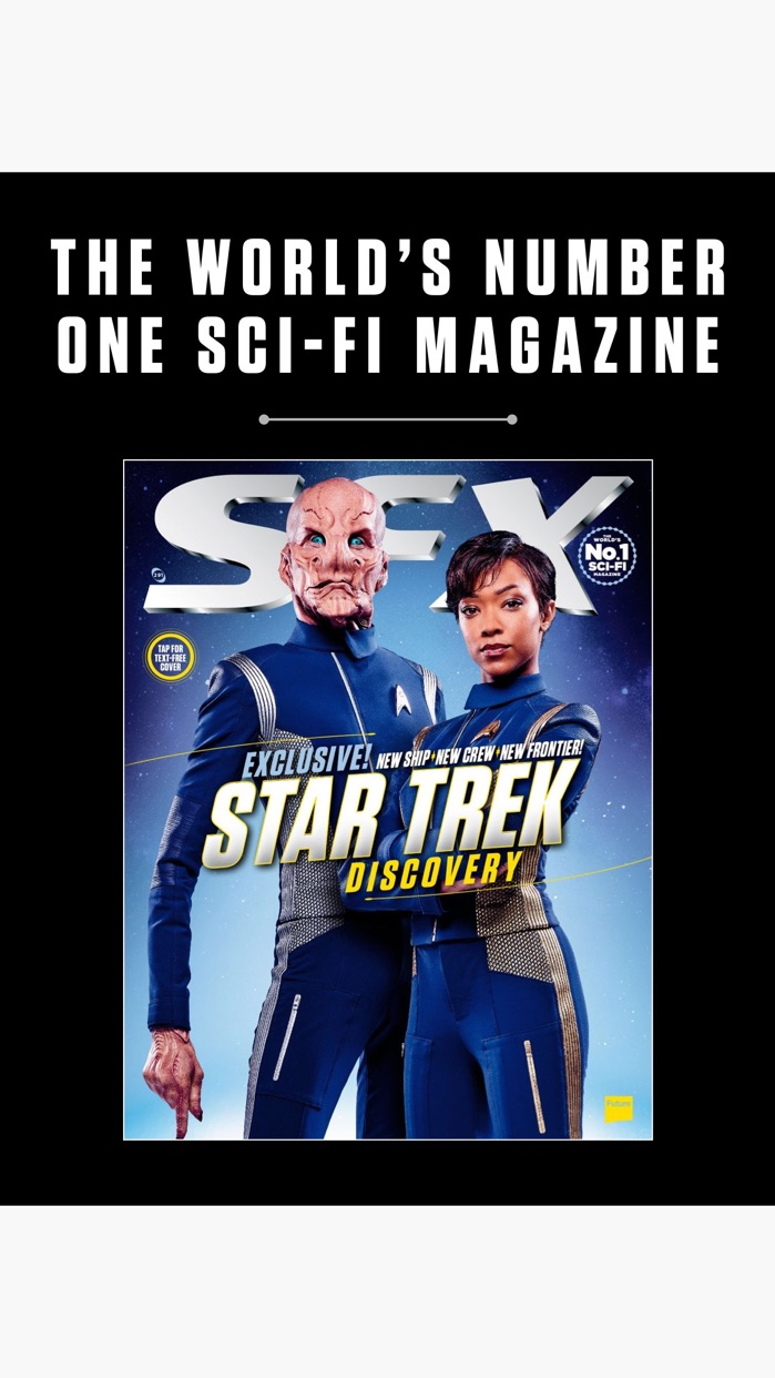 SFX: the sci-fi, horror and fantasy magazine Screenshot