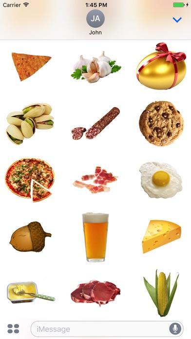 Best Food Stickers screenshot 2