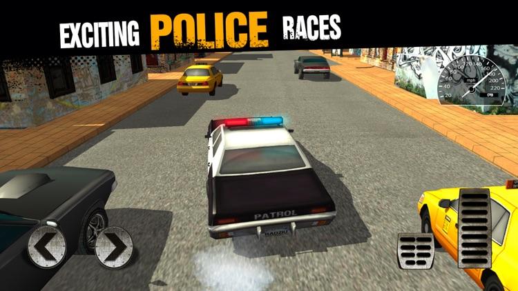 Police Chase: Drag Racing
