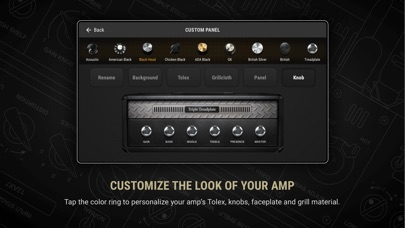 BIAS AMP 2 - for iPhone Screenshots