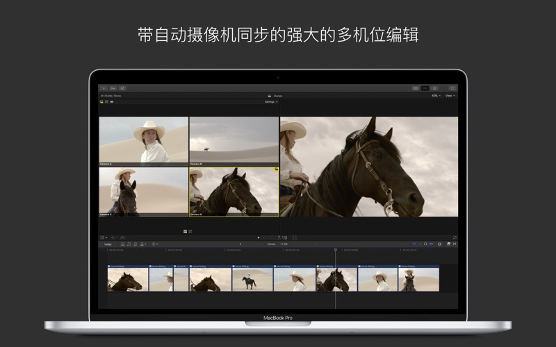 视频制作 Final Cut Pro for Mac