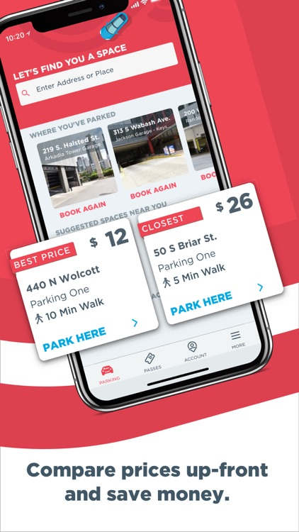 ParkWhiz - Find Parking Nearby screenshot-1