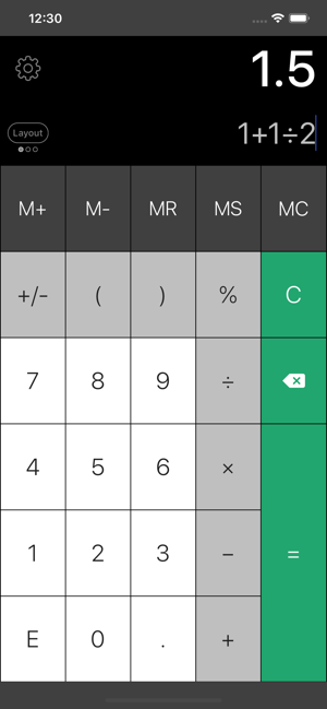 ‎Calculator Pro Elite Screenshot