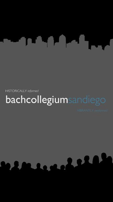 Bach Collegium San Diego screenshot one